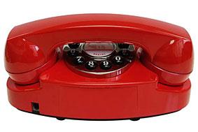 Teléfono Classic Red