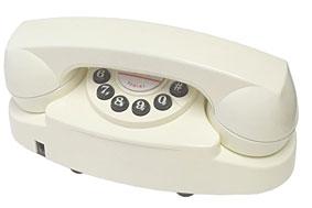 Teléfono Classic White