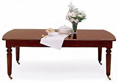Mesa de comedor clásica extensible Zat