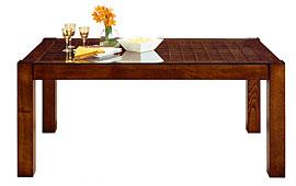 Mesa de comedor tapa calada