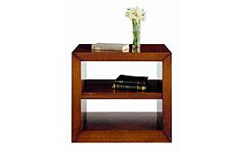 Librería auxiliar con baldas clásica Tangala