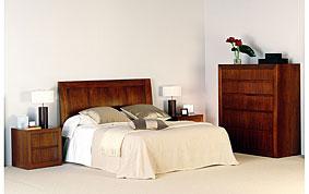 Cabecero madera clásico colchon 150 Mado
