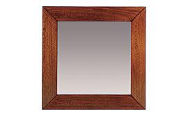 Espejo clásico cuadrado Varila