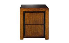 Mesita de noche madera moderna II Rimon