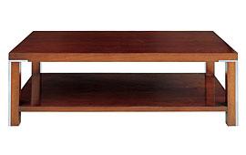 Mesa de centro moderna de madera I Kaila
