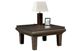 Mesa de rincón madera moderna Lada