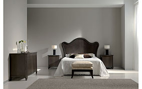 Cabecero de madera moderno para cama 150 Chemi