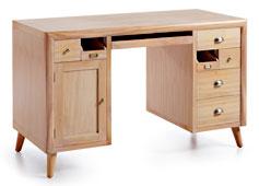 Mesa de escritorio 7 cajones Vintage Bromo - Mesas de Escritorio Vintage - Muebles Vintage