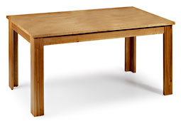 Mesa de comedor extensible lateral Colonial Natural