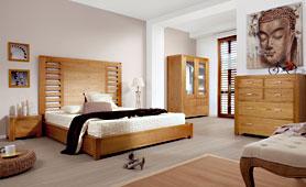 Dormitorio colonial Natural