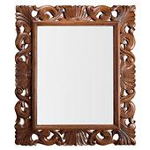 Espejo vintage tallado