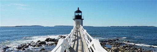 Cuadro Canvas Le phare de Marshall Point