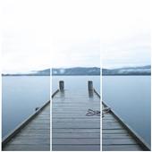 Cuadros Tríos Canvas Arnau Lake