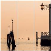 Cuadros Tríos Canvas Bonsoir Venise
