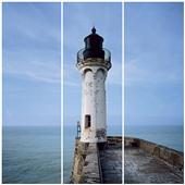 Cuadros Triós Canvas le phare Saint Valery Colour