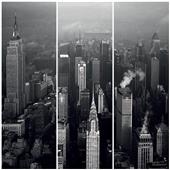Cuadros Tríos Canvas Buildings