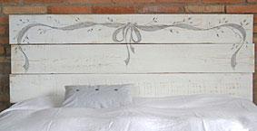 Cabecero Ribbon - Cabeceros y Camas Vintage de madera - Muebles Vintage
