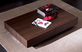 Mesa de centro convertible en mesa de comedor Moderna Box