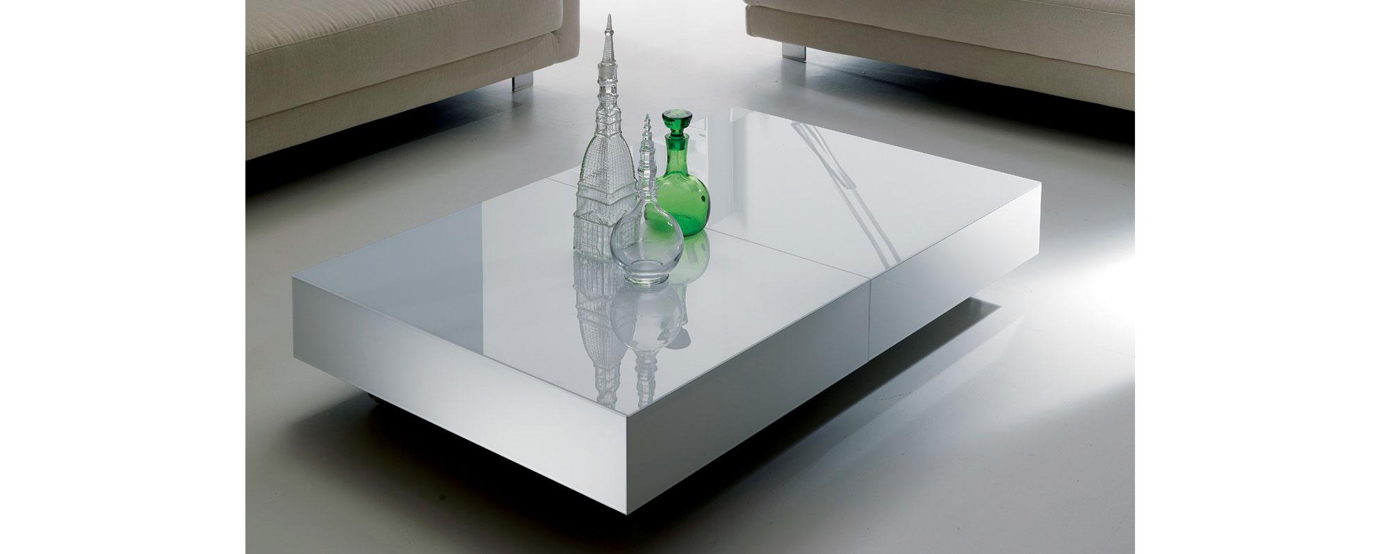 Mesa convertible a comedor moderna box en cosas de for Centros de mesa para comedor