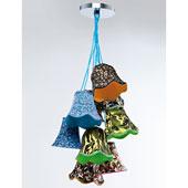 Lámpara de techo Camuflaje colores
