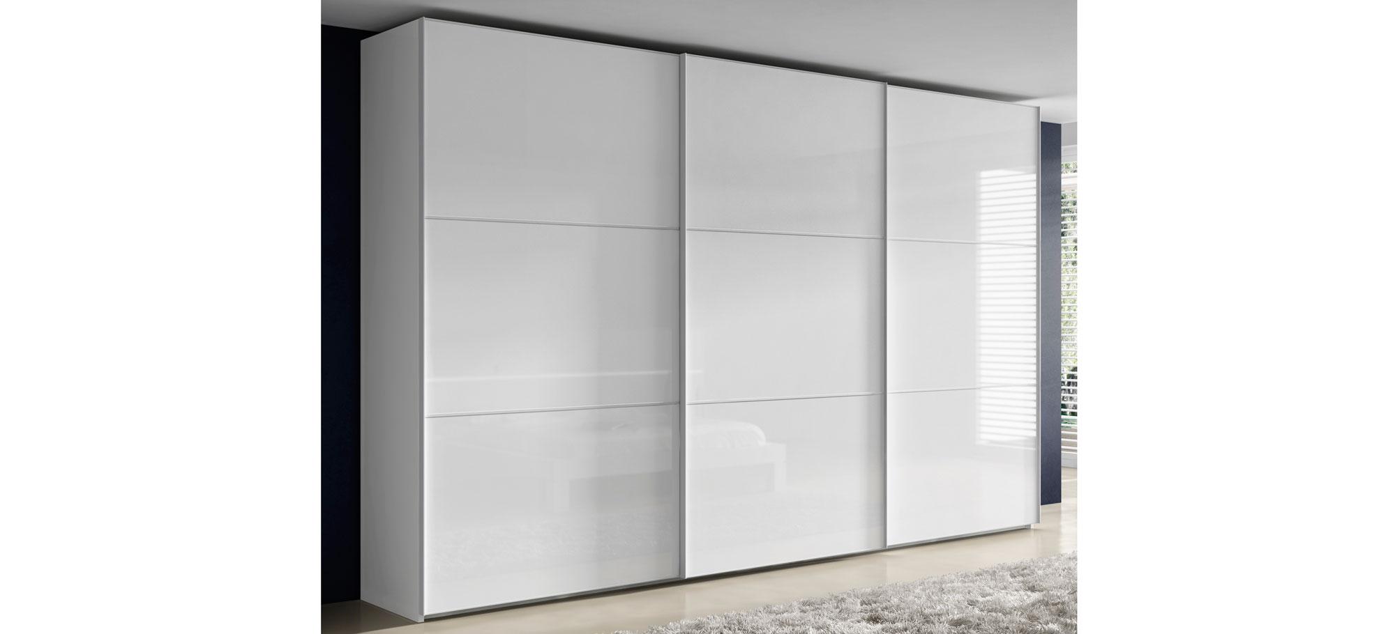 Armario blanco moderno kolmar en cosas de arquitectoscosas for Armarios empotrados modernos