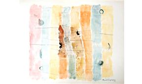 Obra de Ramón Lapayese Abstracto 1 Decorativo