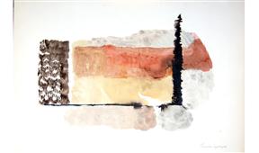 Obra de Ramón Lapayese Abstracto 3 Decorativo