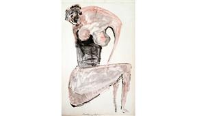 Obra de Ramón Lapayese Desnudo 3 Decorativo
