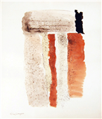 Pintura de Ramón Lapayese Abstracto Decorativo