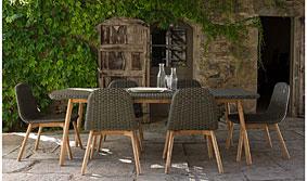 Comedor de jardín de diseño