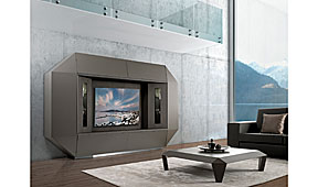 Mueble de tv vanguardista
