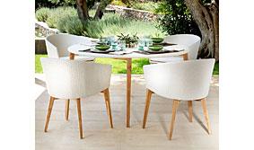 Silla de jardín Creta - Sillas y Sillones Jardín - Muebles de Jardín