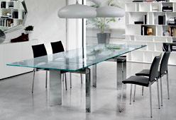 Mesa de comedor extensible Elan Cattelan