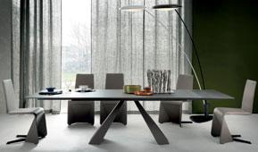 Mesa de comedor extensible moderna Eliot Cattelan