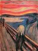 Cuadro canvas museo Munch el grito