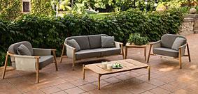 Sofá de jardín Novesar