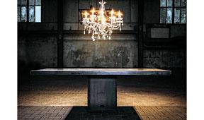 Mesa de comedor industrial Escalda