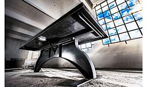 Mesa de Comedor Industrial Waal