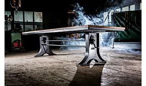 Mesa de Comedor Industrial Mosa