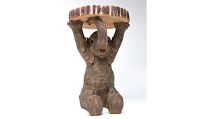 Mesilla auxiliar vintage elefante