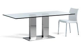 Mesa de comedor grande Elvis Cattelan