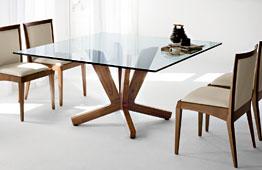 Mesa de comedor cuadrada moderna Goblin