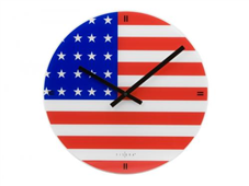 Reloj de pared Bandera USA