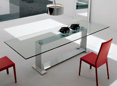 Mesa de comedor grande Moderna Monaco