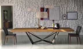 Mesa de comedor madera Skorpio Cattelan