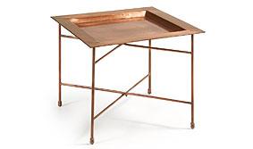 Mesa auxiliar vintage Copper