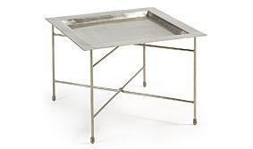 Mesa auxiliar vintage Silver