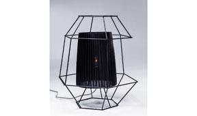 Lampara de sobremesa vintage Wire negro - Lámparas de Sobremesa - Iluminación