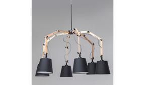 Lámpara de techo Spider
