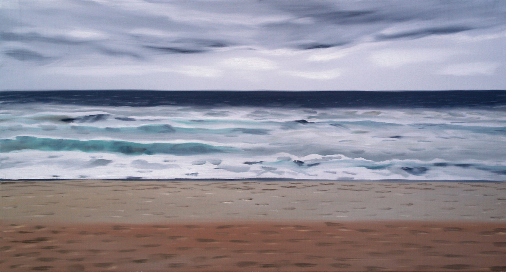 Cuadro original playa ii no disponible en - Muebles de playa ...